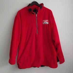 Marlboro Reversible Plaid XL Jacket